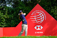 Emiliano Grillo (ARG) during the 1st round at the WGC HSBC Champions 2018, Sheshan Golf CLub, Shanghai, China. 25/10/2018.<br /> Picture Phil Inglis / Golffile.ie<br /> <br /> All photo usage must carry mandatory copyright credit (&copy; Golffile | Phil Inglis)