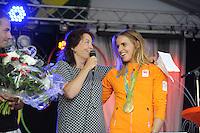 ZEILEN: WARTEN: 27-08-2016, Huldiging Marit Bouwmeester, ©foto Martin de Jong