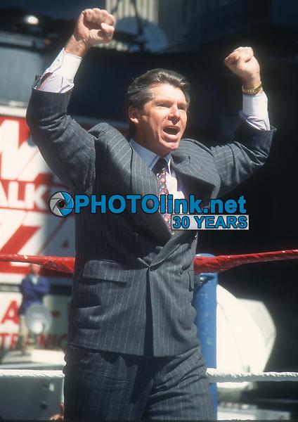 Vince McMahon 1995<br /> Photo By John Barrett/PHOTOlink.net