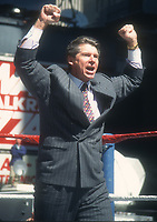 Vince McMahon 1995<br /> Photo By John Barrett/PHOTOlink.net