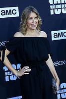 """LOS ANGELES - OCT 22:  Denise M. Huth at the """"The Walking Dead"""" 100th Episode Celebration at the Greek Theater on October 22, 2017 in Los Angeles, CA"""