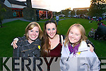 Jonna Cohen, Tralee, Elly McGregor Hodgkiss, Inch and Claire O'Connor Milltown watching Tralee band avatar performing for Culture night in front of Siamsa Tire, Tralee on Friday evening.