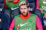 FC Barcelona's Leo Messi during the La Liga match between Futbol Club Barcelona and Deportivo de la Coruna at Camp Nou Stadium Spain. October 15, 2016. (ALTERPHOTOS/Rodrigo Jimenez)