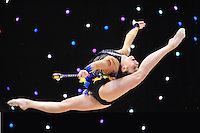 "February 9, 2014 - Tartu, Estonia - KATSIARYNA HALKINA of Belarus performs at ""Miss Valentine 2014"" international tournament."