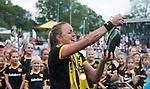 DEN BOSCH - Maartje Paumen  ,    na  de finale van de EuroHockey Club Cup, Den Bosch-UHC Hamburg (2-1) . COPYRIGHT  KOEN SUYK