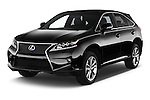 2015 Lexus RX F Sport 5 Door SUV 2WD Angular Front stock photos of front three quarter view