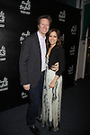 All My Children's Rebecca Budig poses with fiance Michael Benson as she hosts Ice Theatre of New York - The Nation's Premier Ice Dance Ensemble hosts Spring Fling Celebrity Skate 2012 on May 17, 2012 at Sky Rink at Chelsea Piers, New York City, New York. (Photo by Sue Coflin/Max Photos)