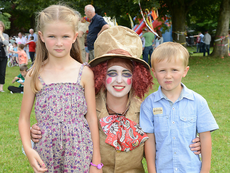 Aaron and Hannah McEvily and Rebecca Bannon pictured at the Ardee festival. Photo:Colin Bell/pressphotos.ie