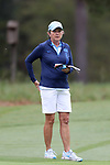 CHAPEL HILL, NC - OCTOBER 15: UNC head coach Jan Mann. The third and final round of the Ruth's Chris Tar Heel Invitational Women's Golf Tournament was held on October 15, 2017, at the UNC Finley Golf Course in Chapel Hill, NC.