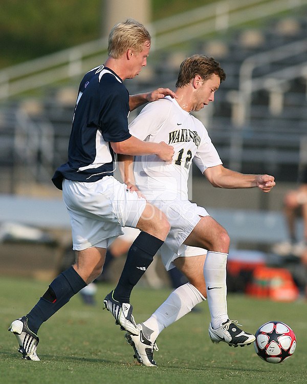 04 September 2009: of the University of Notre Dame of Wake Forest University during an Adidas Soccer Classic match at the University of Indiana in Bloomington, In. The game ended in a 1-1 tie..