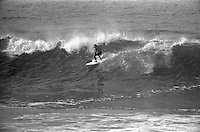 Michael 'MP' Peterson (AUS) during the 1976 Bells Beach easter Rally, Bells Beach, Torquay, Victoria Australia. Photo: joliphotos.com