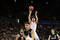 China&rsquo;s Shuo Fang in action during the FIBA World Cup Basketball Qualifier - NZ Tall Blacks v China at Spark Arena, Auckland, New Zealand on Sunday 1 July 2018.<br /> Photo by Masanori Udagawa. <br /> www.photowellington.photoshelter.com