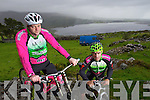 Denis O'Shea and John Crowley at the new downhill Mountain bike track in Glenflesk.