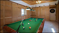 Bmth News (01202 558833)<br /> Pic: Strutt&amp;Parker/BNPS<br /> <br /> Game of....snooker?<br /> <br /> Perfect property for a Game of Thrones fan - but you'll already need a Kings ransom to be able to buy it.<br /> <br /> The stunning &pound;4.5million estate is located in a region of the Scottish Highlands called Wester Ross - almost exactly the same as the fictitious Westeros from the hit TV series. <br /> <br /> Called Legdowan, it's located in Ross-shire and comprises a whopping 11,000 acres of rugged terrain that looks like something straight out of the Seven Kingdoms. <br /> <br /> Neither the Starks of Winterfell nor the Mormonts of Bear Island, who both occupy the Kingdom of the North, would look out of place traversing the land on horseback.