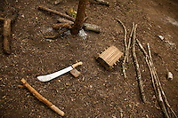 Tools  used by refugees in Makpando refuegee camp in South Sudan
