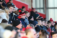 Fleetwood Town fans during the Sky Bet League 1 match between Fleetwood Town and MK Dons at Highbury Stadium, Fleetwood, England on 24 February 2018. Photo by David Horn / PRiME Media Images