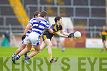 Jamie Doolan Dr. Crokes in action against Mark Cahalane Castlehaven in the Munster Senior Club Final at Pairc Ui Caoimh on Sunday