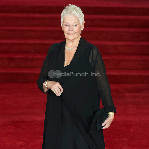 Judi Dench attends Murder On The Orient Express World Premiere - London, England (02/11/2017) Credit: Ik Aldama/DPA/MediaPunch ***FOR USA ONLY***
