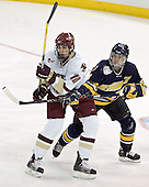 Brian Boyle, Scott Drewicki - Boston College defeated Merrimack College 3-0 with Tim Filangieri's first two collegiate goals on November 26, 2005 at Kelley Rink/Conte Forum in Chestnut Hill, MA.