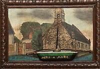 Europe/France/Bretagne/35/Ille et Vilaine/Env de Cancale: Ex-Voto, Chapelle Notre-Dame du Verger  // France, Ille et Vilaine, cote d'emeraude (Emerald Coast), Cancale, Ex-Voto, Notre Dame du Verger
