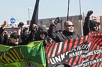 16-04-02 Neonazis ziehen durch Marzahn-Hellersdorf