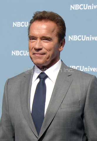 NEW YORK, NY - MAY 16: Arnold Schwarzenegger at the NBCUniversal 2016 Upfront at Radio City Music Hall in New York City on May 16, 2016. Credit: RW/MediaPunch