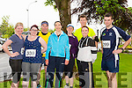 Margaret Mahony, Louise Mahony, James Mahony, Sharon Cahill, Paula O'Connor, Wayne Young, Catherine O'Sullivan and David O'Connor. at the Tralee Summer Solstice Run in aid of the Irish Heart Foundation on Sunday