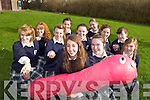 THE WONDER OF WORM: TY students from Presentation secondary school are studying the workings of the worm for their ECO UNESCO project. Pictured are Elen O'Doherty, Keeva O'Sullivan, NIamh Cleary, Sadhbh Keating, Aine O'Connor, Niamh Sheehy, Alex Redlich, Katie McCarthy, Fiona McKeown, Martina O'Connor and Clare Breen.
