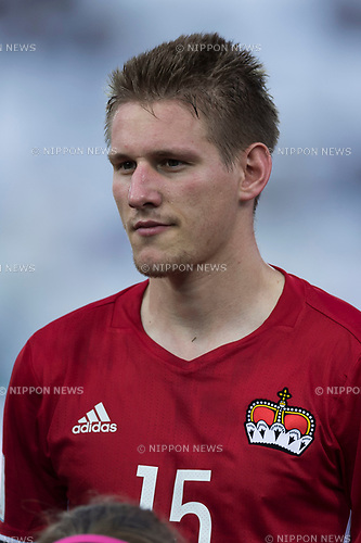 Andreas Malin (LIE), JUNE 11, 2017 - Football / Soccer : FIFA World Cup Russia 2018 European Qualifier Group G match between Italy 5-0 Liechtenstein at Dacia Arena in Udine, Italy. (Photo by Maurizio Borsari/AFLO)