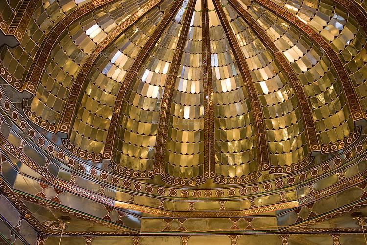 26.11.2010 Udaipur (Rajasthan)<br /> <br /> Roof in a room of the city palace.<br /> <br /> Plafond d'une pièce du palais de la ville.