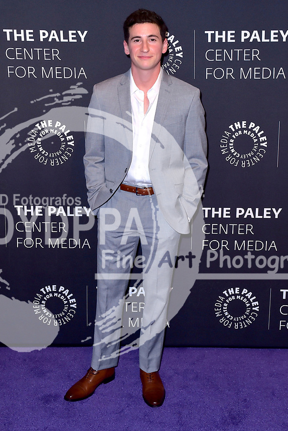 Sam Lerner bei der Feier zur 100. Episode der TV-Serie 'The Goldbergs' im Rahmen der PaleyLive Fall Season im Paley Center for Media. Beverly Hills, 17.10.2017