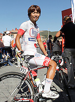 Yukihiro Doi before the stage of La Vuelta 2012 between La Robla and Lagos de Covadonga.September 2,2012. (ALTERPHOTOS/Acero) /NortePhoto.com<br /> <br /> **CREDITO*OBLIGATORIO** <br /> *No*Venta*A*Terceros*<br /> *No*Sale*So*third*<br /> *** No*Se*Permite*Hacer*Archivo**<br /> *No*Sale*So*third*