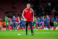 Alan Curtis, First-team coach of Swansea City prior to the Barclays Premier League match between Arsenal and Swansea City at the Emirates Stadium, London, UK, Wednesday 02 March 2016
