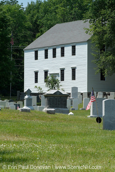 Hawke Meeting House was built in the early 1700's and  is listed as  New Hampshire's oldest meeting house in original condition.  Located in Danville, New Hampshire, USA just south of Ye Olde Cemetery, which is part of New England