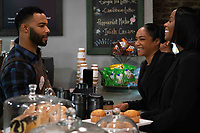 Nobody's Fool (2018) <br /> Omari Hardwick, Tiffany Haddish and Tika Sumpter  <br /> *Filmstill - Editorial Use Only*<br /> CAP/MFS<br /> Image supplied by Capital Pictures