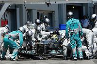 NÜERBURG, ALEMANHA, 07.07.2013 - F1 - GP DA ALEMANHA - O piloto alemão Nico Rosberg da Mercedes durante o GP da Alemanha em Nüerburg neste domingo, 07. (PIXATHLON / BRAZIL PHOTO PRESS).