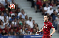 Liverpool's Andy Robertson in action during the UEFA Champions League final football match between Tottenham Hotspur and Liverpool at Madrid's Wanda Metropolitano Stadium, Spain, June 1, 2019.<br /> UPDATE IMAGES PRESS/Isabella Bonotto
