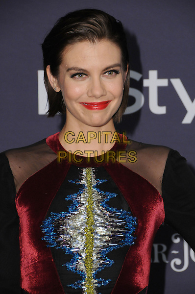 23 October  2017 - Los Angeles, California - Lauren Cohan. Third Annual &quot;InStyle Awards&quot; held at The Getty Center in Los Angeles. <br /> CAP/ADM/BT<br /> &copy;BT/ADM/Capital Pictures