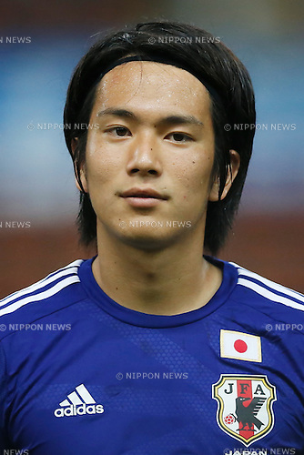 Shinya Yajima (JPN), MARCH 29, 2015 - Football / Soccer : AFC U-23 Championship 2016 Qualification Group I match between U-22 Japan 2-0 U-22 Vietnam at Shah Alam Stadium in Shah Alam, Malaysia. (Photo by Sho Tamura/AFLO SPORT)