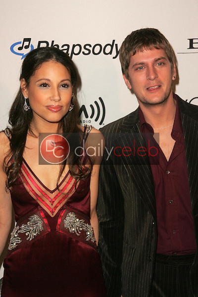 Rob Thomas and wife Marisol<br />at Clive Davis's Annual Pre Grammy Extravaganza. the Beverly Hilton, Beverly Hills, CA. 02-07-06<br />Dave Edwards/DailyCeleb.com 818-249-4998