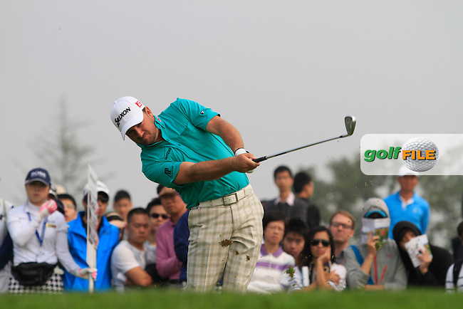 Graeme McDowell (NIR) on the 6th tee on Day 4 of the BMW Masters 2012 at Lake Malaren Golf Club, Shanghai, China, Tuesday 28/10/12...(Photo www.golffile.ie)