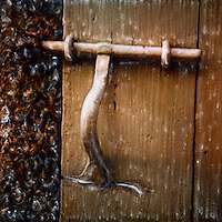 Wonderful old world style latch for the garden gate.<br /> <br /> -Limited Edition of 50 Prints