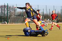 Romford HC Ladies vs Redbridge & Ilford HC Ladies 11-01-14