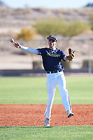 Sebastian Ruiz (48), from Diamond Bar, California, while playing for the Padres during the Under Armour Baseball Factory Recruiting Classic at Red Mountain Baseball Complex on December 29, 2017 in Mesa, Arizona. (Zachary Lucy/Four Seam Images)