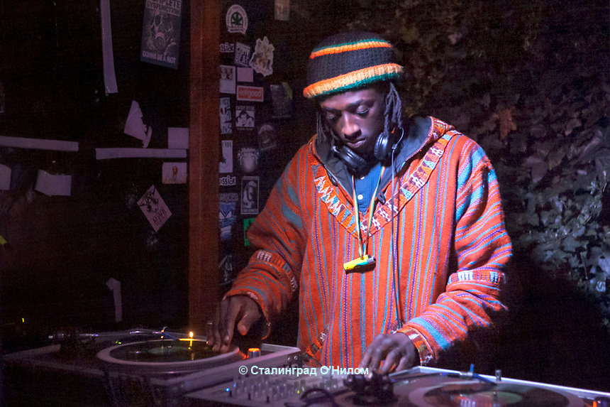 Dubgasm promotion, Birmingham Food Drive, 11th March 2017, <br /> Kiran Bangerh presents Lobster, Bongo Damo, Wool-Lea, Jah Nova, Mones - Graffiti Art,