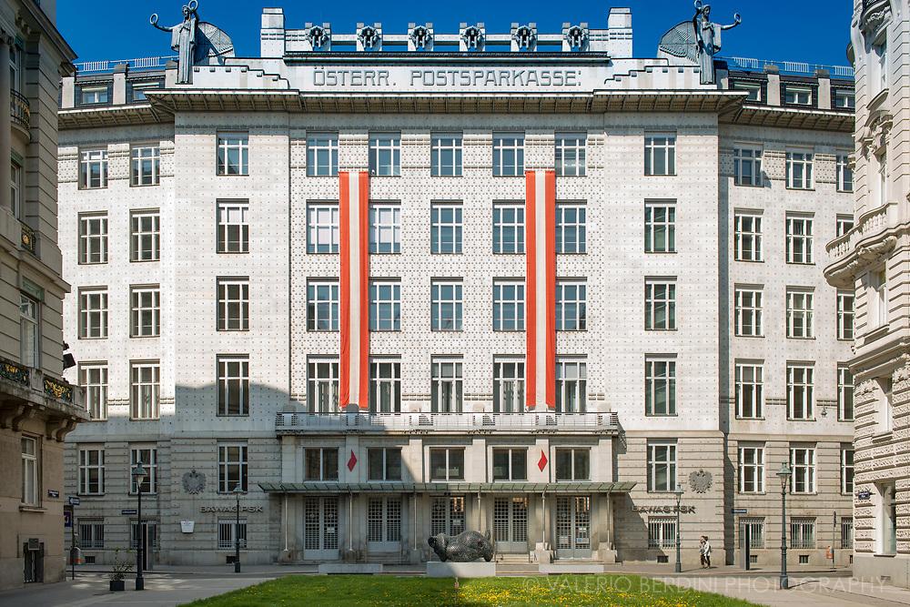 Austrian Postal Savings Bank By Otto Wagner Vienna Valerio