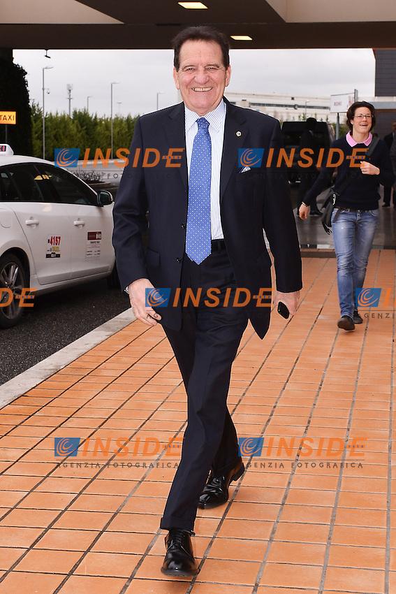 Mario Macalli Presidente Lega Pro .Roma 14/01/2013 Marriott Hotel.Assemblea Elettiva FIGC Federazione Italiana Gioco Calcio.Foto Andrea Staccioli Insidefoto