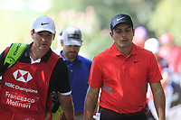 Francesco Molinari (ITA) \walking to the 9th tee during the 2nd round of the WGC HSBC Champions, Sheshan Golf Club, Shanghai, China. 01/11/2019.<br /> Picture Fran Caffrey / Golffile.ie<br /> <br /> All photo usage must carry mandatory copyright credit (© Golffile   Fran Caffrey)