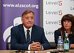 Jimmy Calderwood talking about his diagnosis of Alzheimer's Disease alongside partner Yvonne this morning