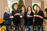 25th Anniversary Christmas Coffee Morning in Aid of South West Counselling Centre in the Royal Hotel Killarney last Thursday morning. Pictured are l-r Trish Donovan from Killarney, Dagmar Hoggurt from Muckross, Killarney, Claire O'Toole from Glenbeigh, Carol Naughton from Killorglin and Mairead O'Sullivan from Killorglin.